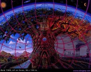 Gaia by Alex Grey