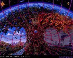 Gaia by Alex Grey