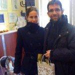 Évi és Peti nagyon örül :)
